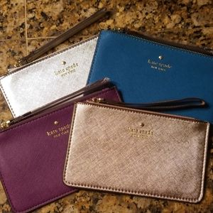 New kate spade clutches